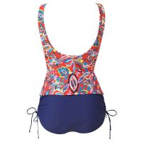 Beachcomber Twist Front Tankini - Red